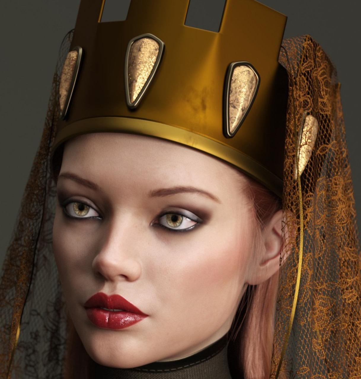 dforce medieval headpieces