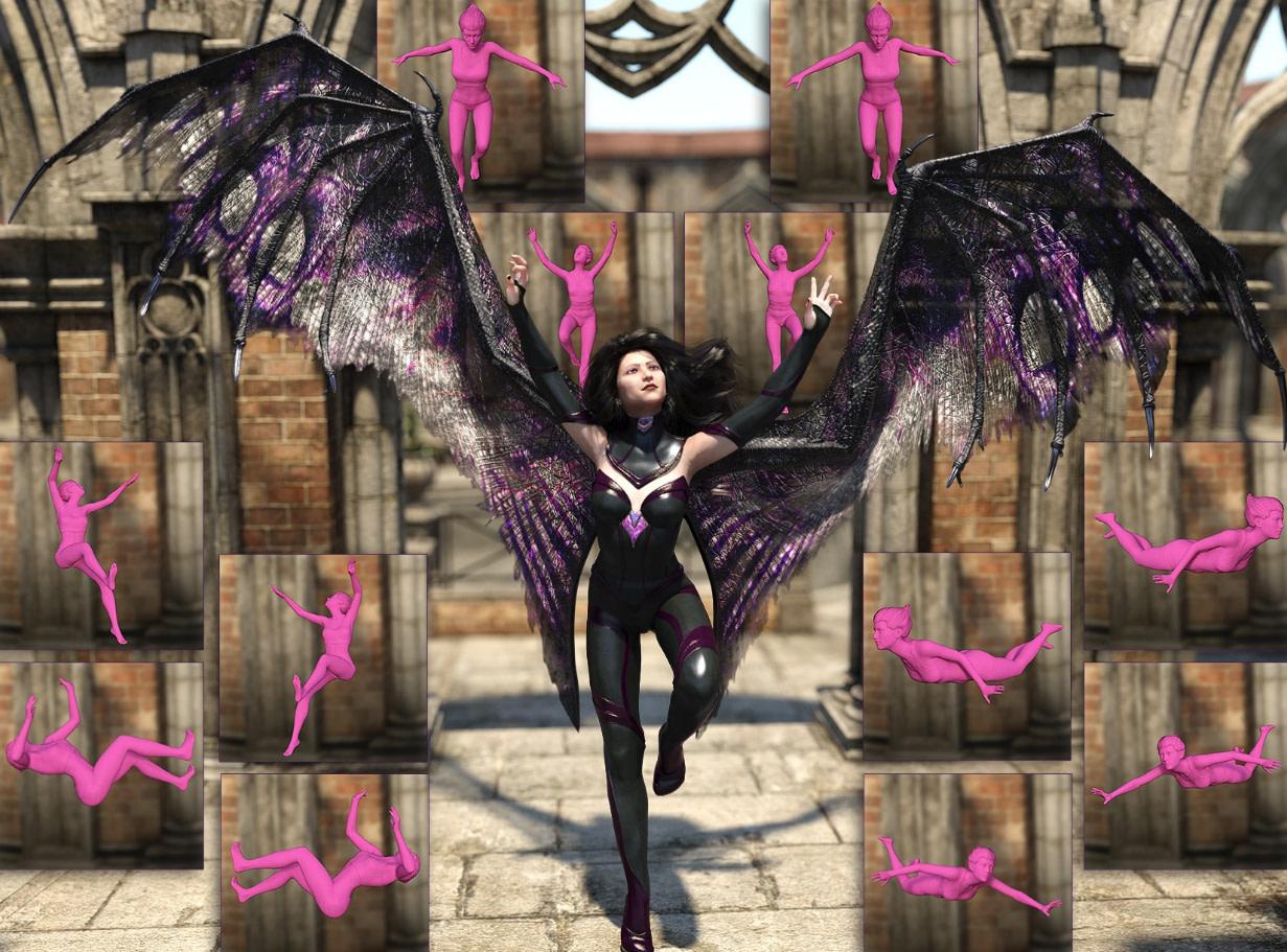 arkis daz3d wings