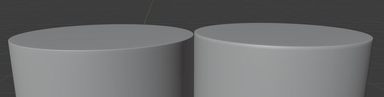 blender subdivision limit surface