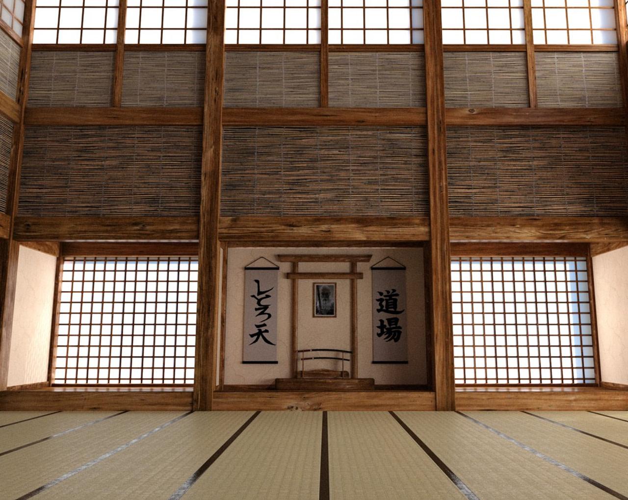 daz3d japanese dojo