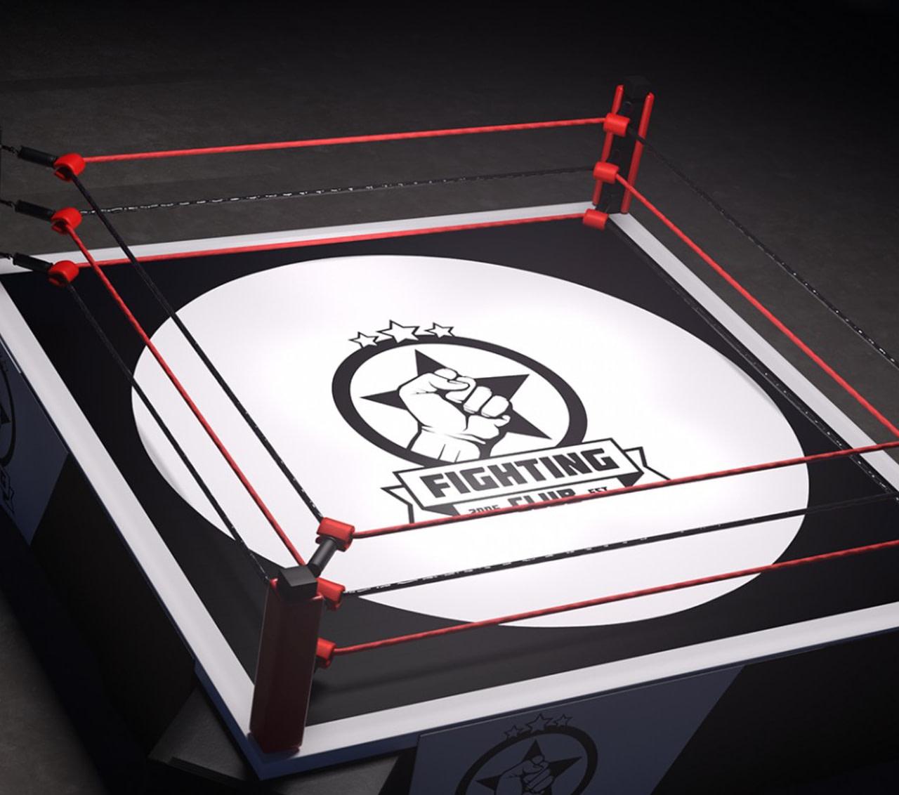 daz3d fighting ring