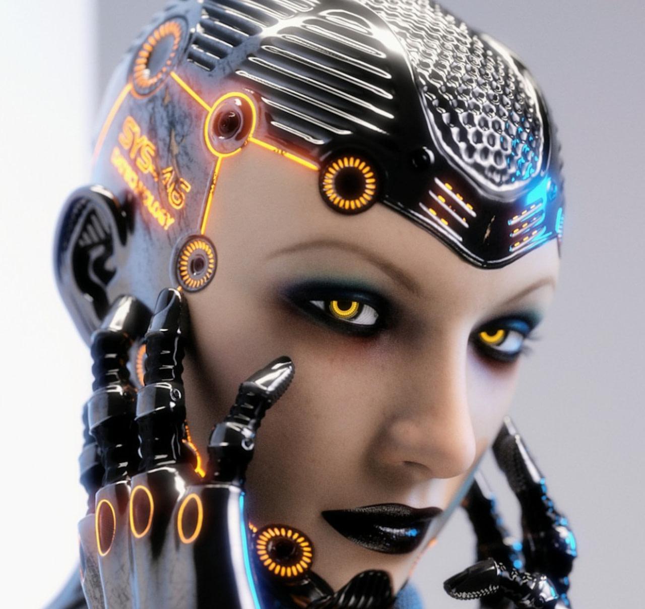 cyborg daz3d system 46 3d model