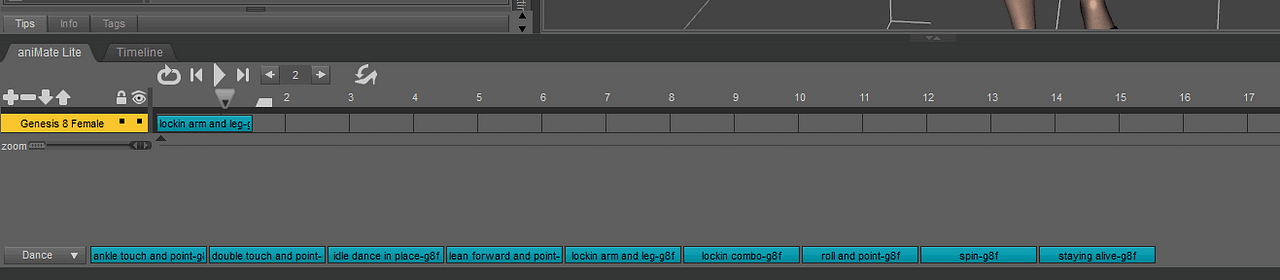 daz3d animate aniblock