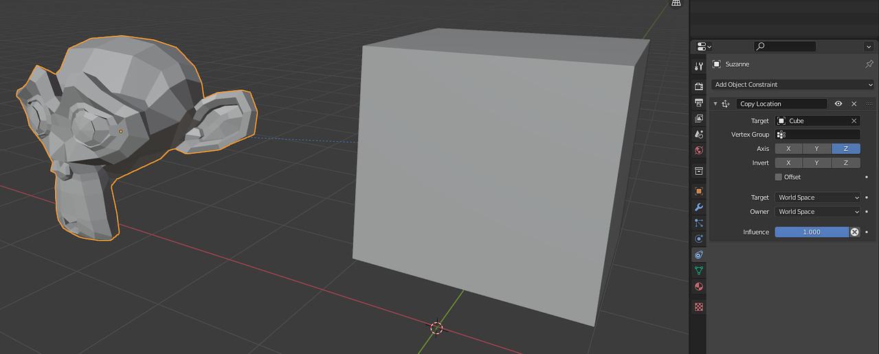 blender constraints copy location