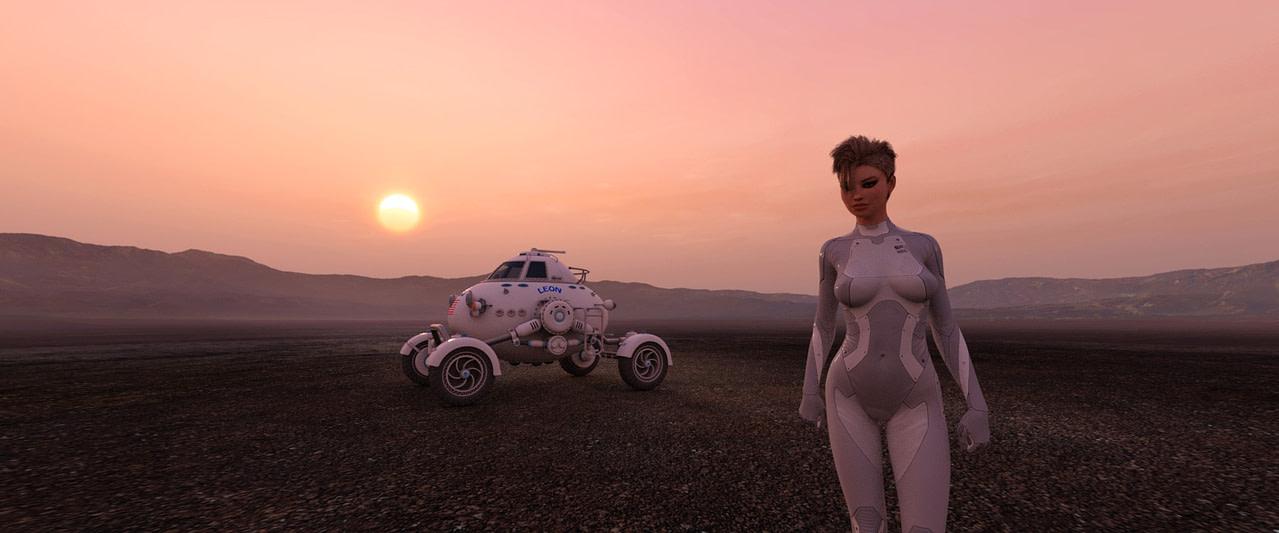 hdri hazy sunsets and desert daz product