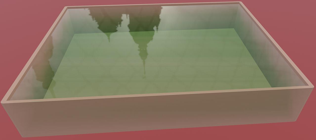 blender eevee liquid material