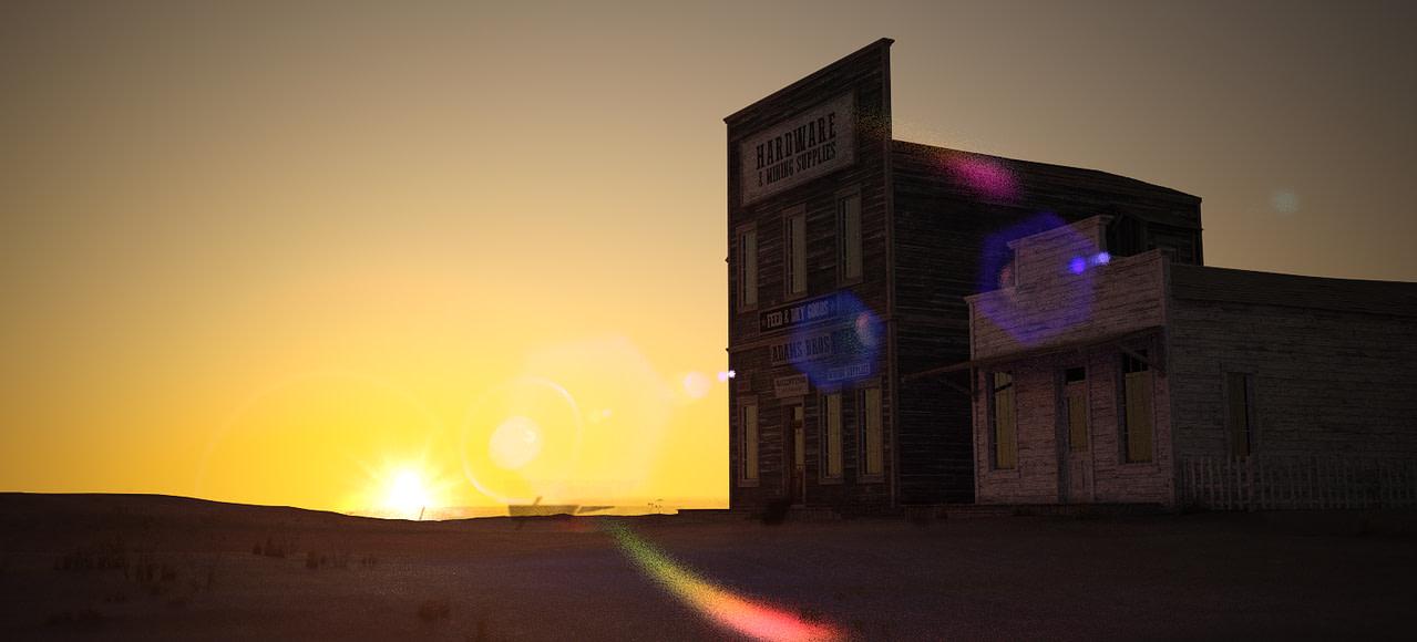 daz studio wild west dynamic lens flare