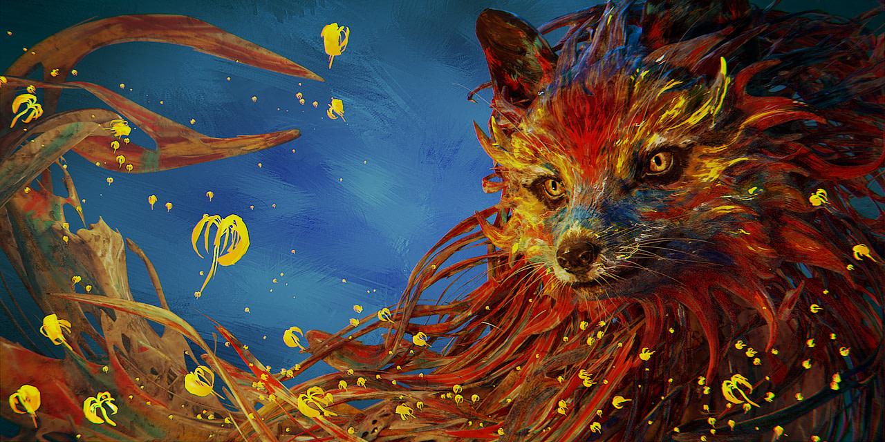 blender splash fox render cycles