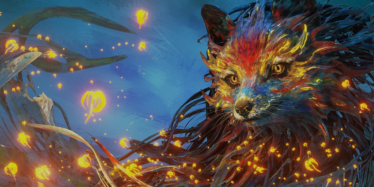 blender splash fox render eevee