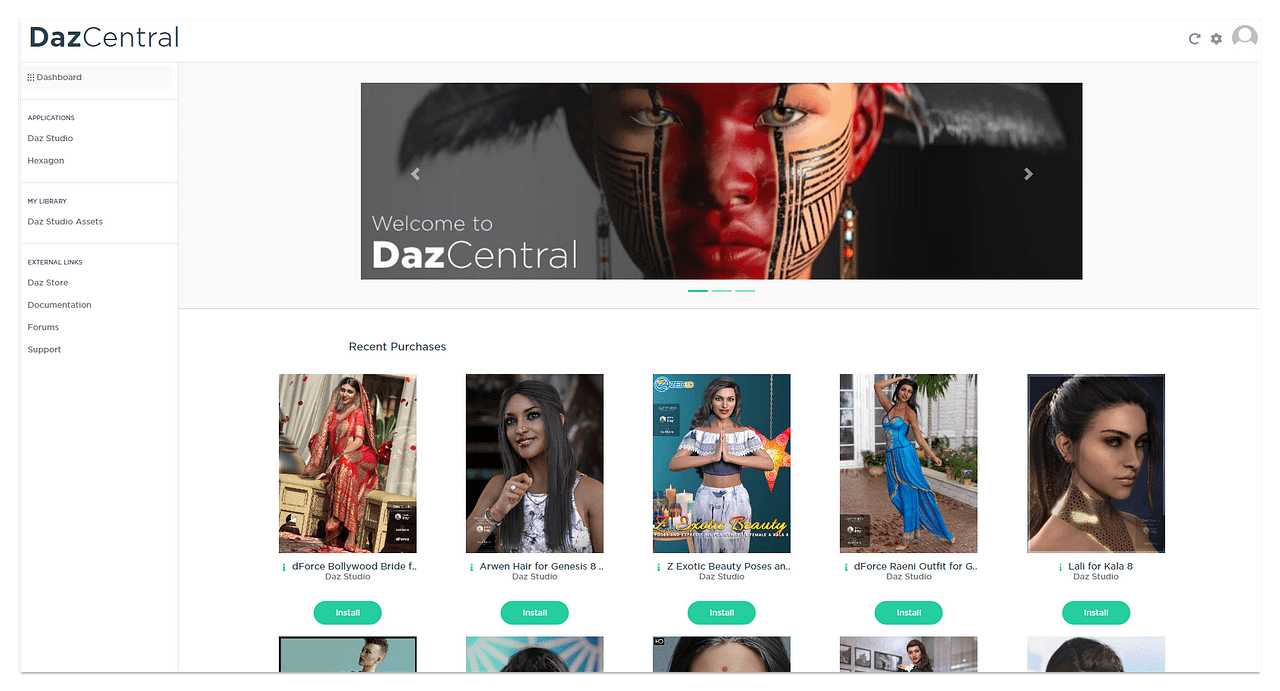 DazCentral