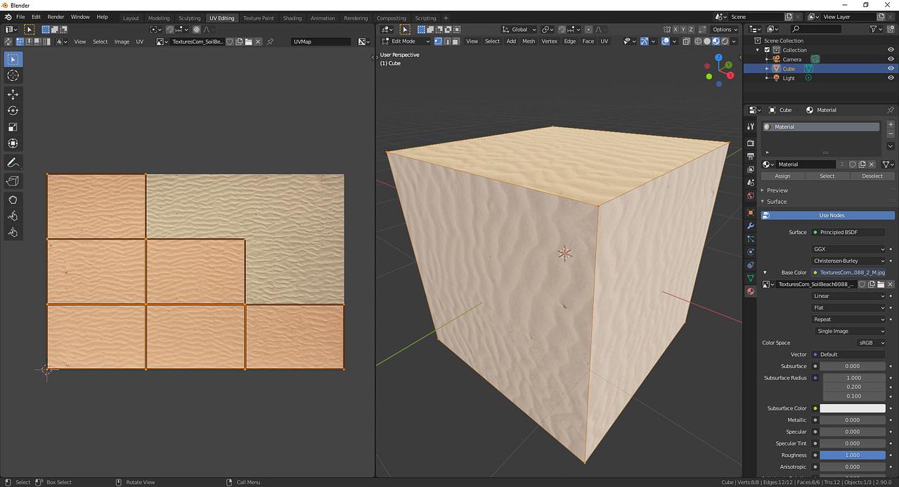 blender lightmap pack