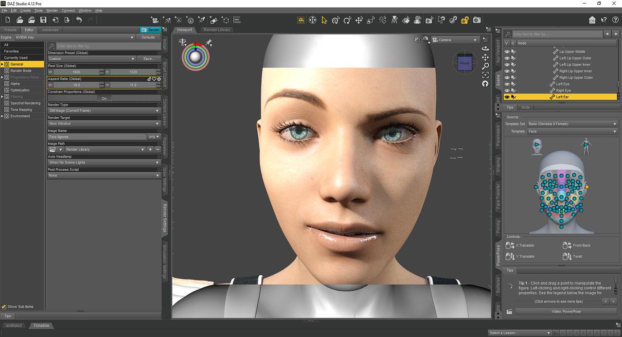 daz3d genesis 8 facial expressions