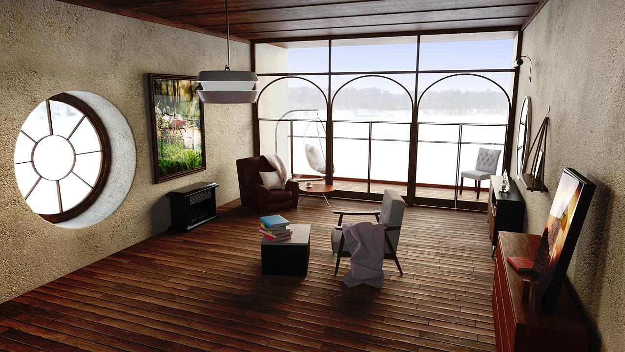 daz living room feng