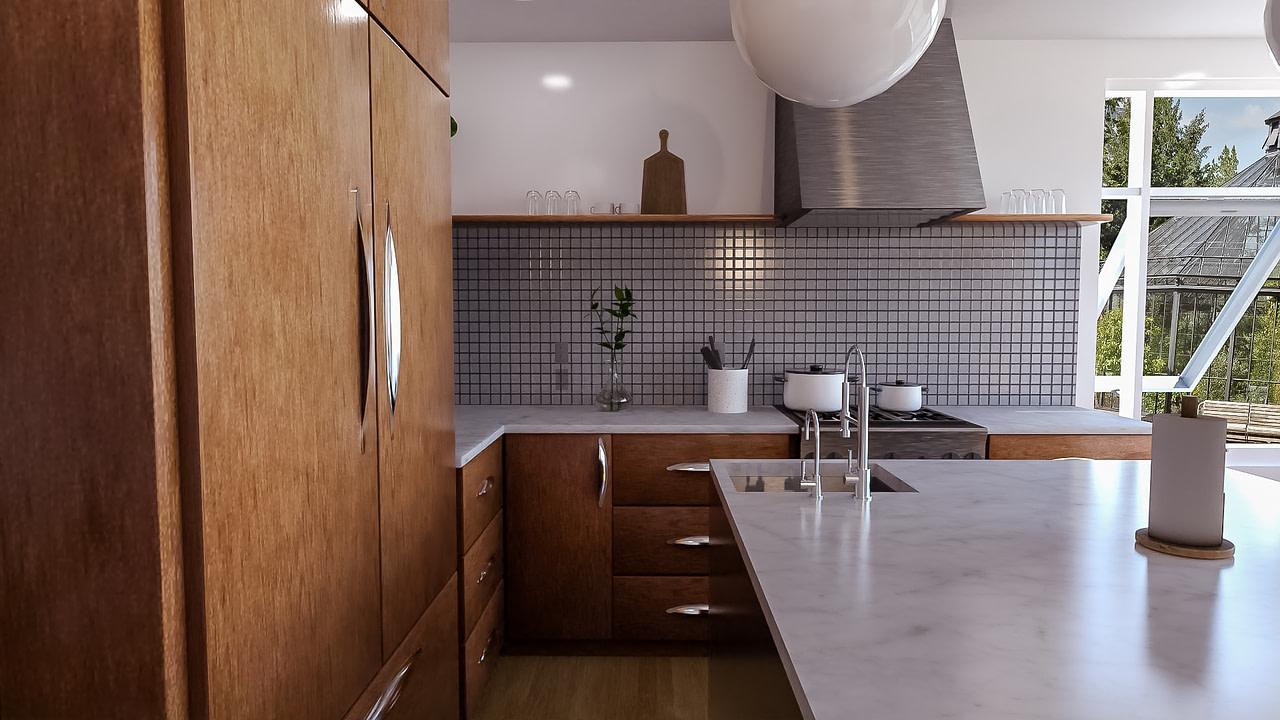 daz nostalgic kitchen product beautiful render without noise