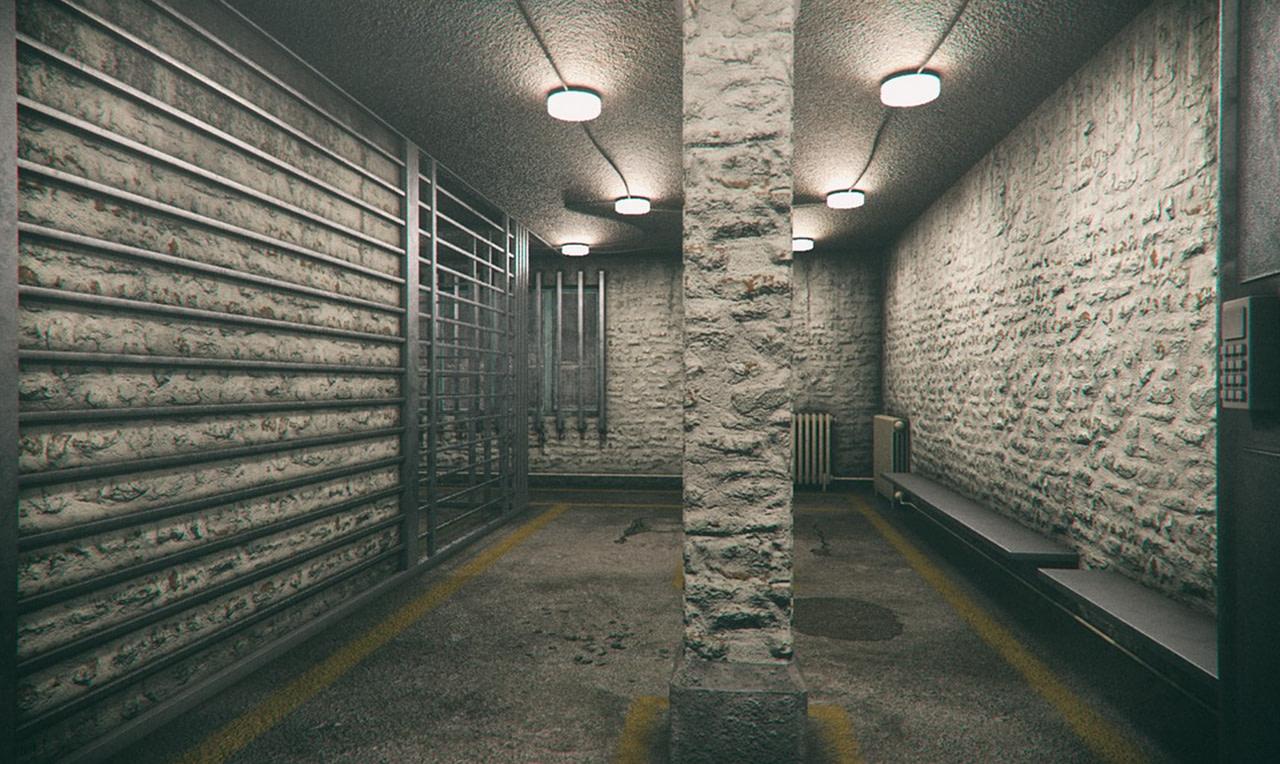 daz3d old prison cell