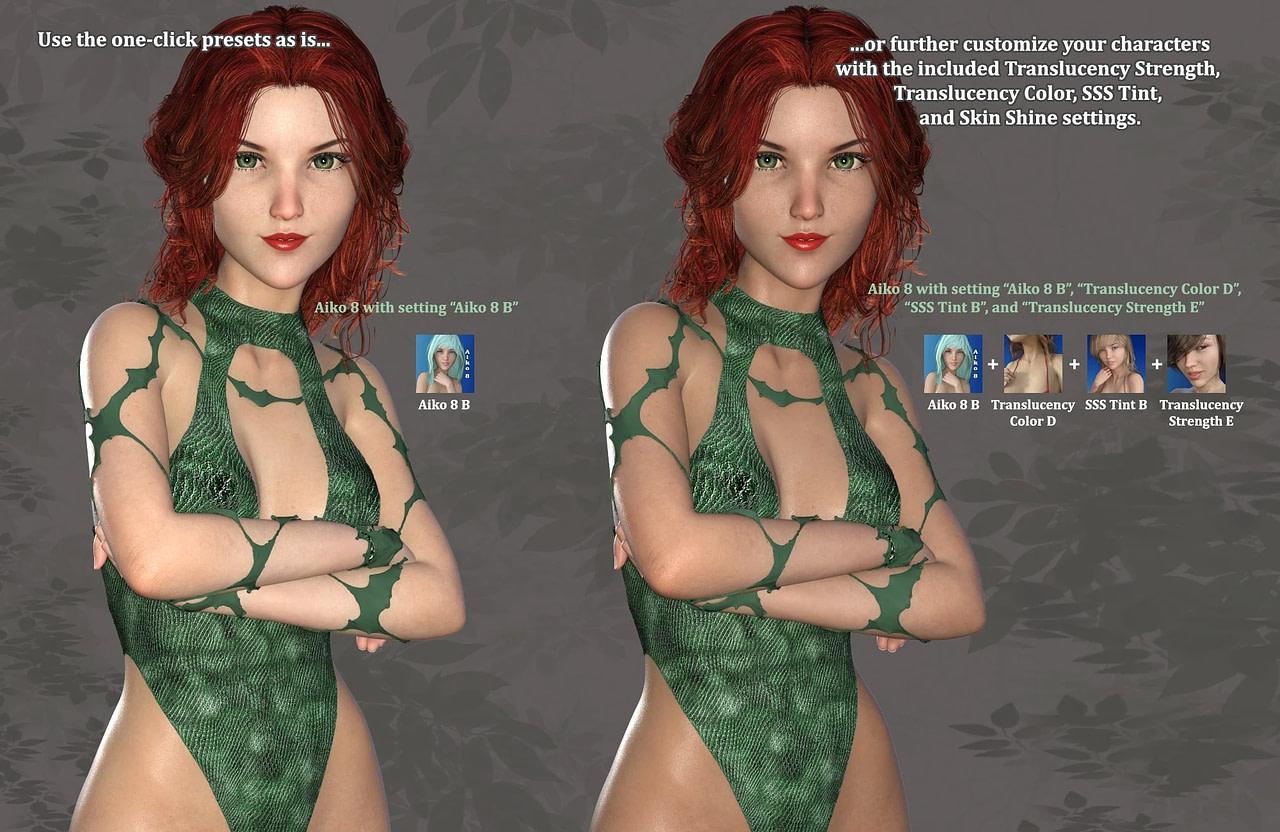 daz3d altern8 skin shader system
