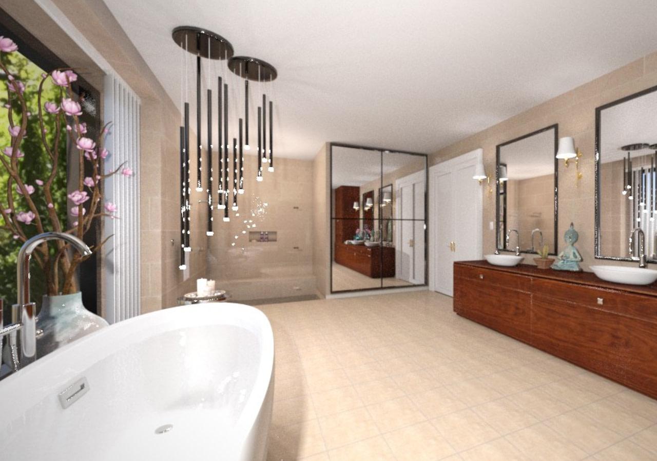 igf luxury bathroom bundle model