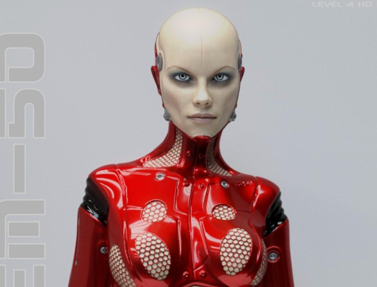 daz3d system 50 cyborg model