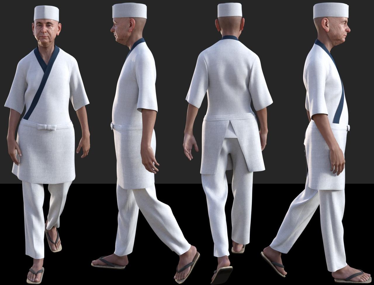 dforce itamae outfit genesis male