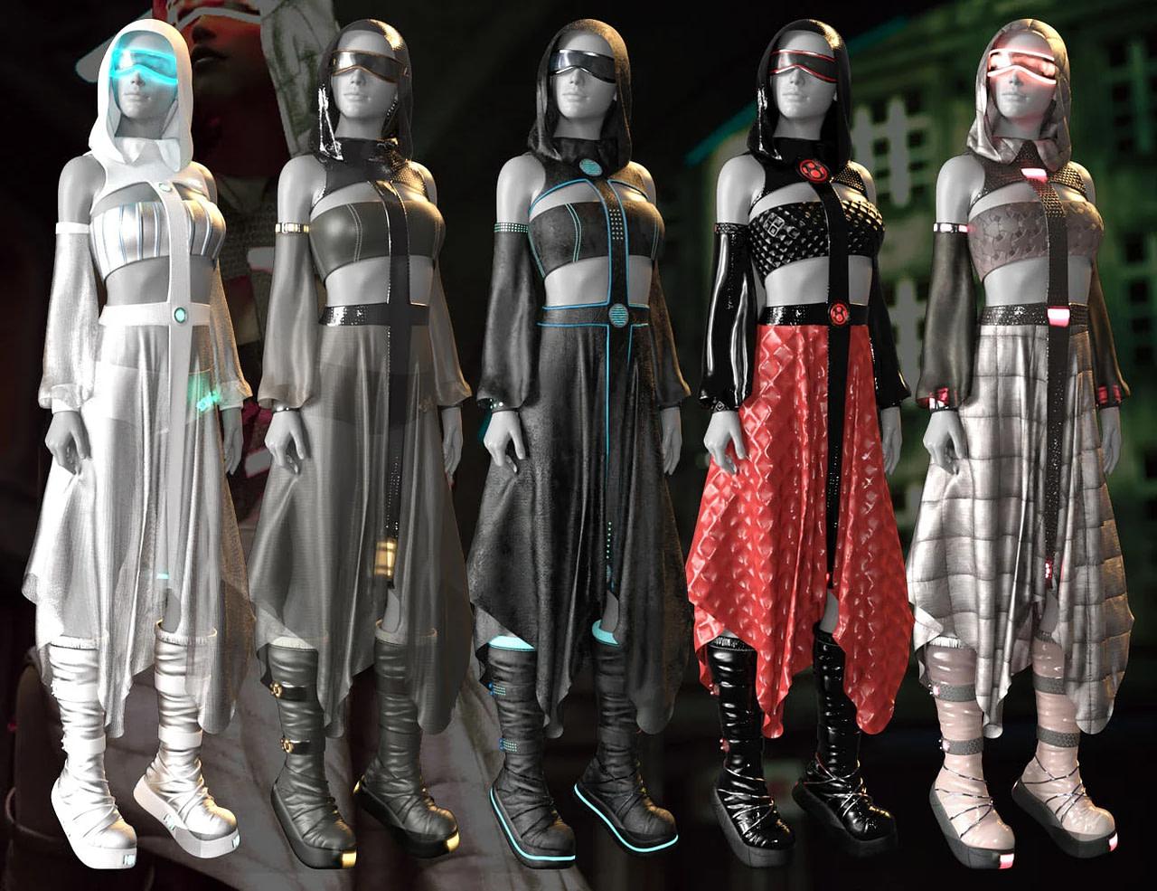 daz3d cb haze alpha clothing
