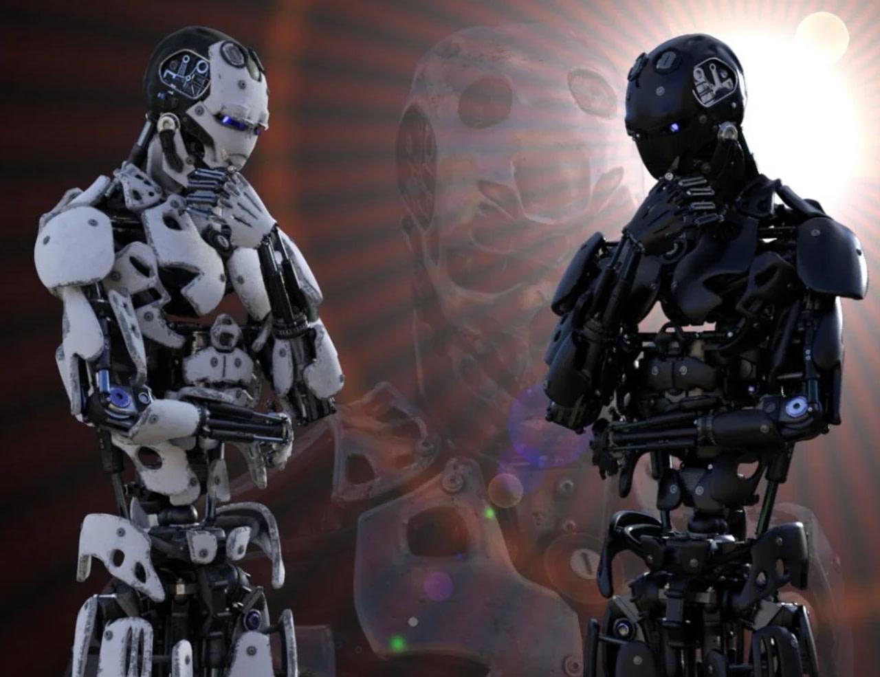 male daz3d cyborg generation 8