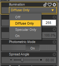 daz catchlight diffuse