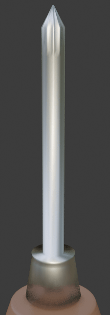 blender metal material