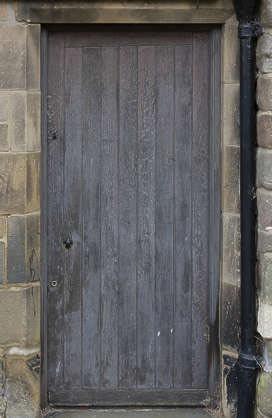 blender procedural displacement door