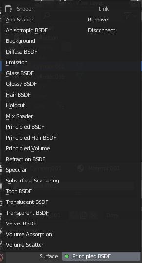 blender material shaders