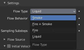 blender flow type smoke simulation