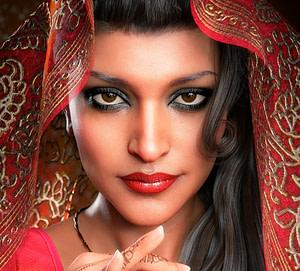 3d model of a woman in daz