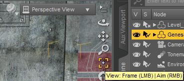 daz view frame