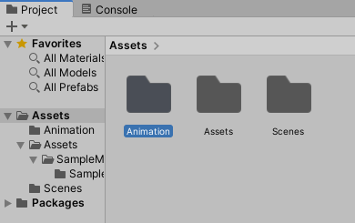 unity3d animation import