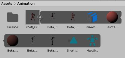 unity animation assets