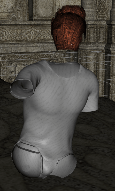 daz3d how to hide the whole character