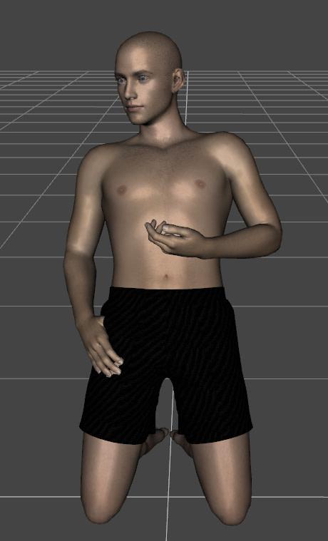 daz to blender transfering pose