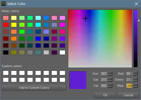 daz studio subsurface scattering translucency color