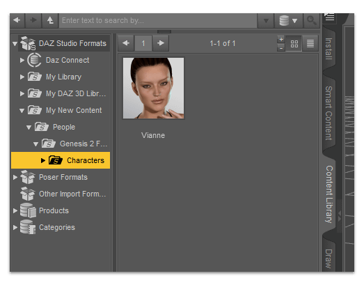 daz manual install - content library