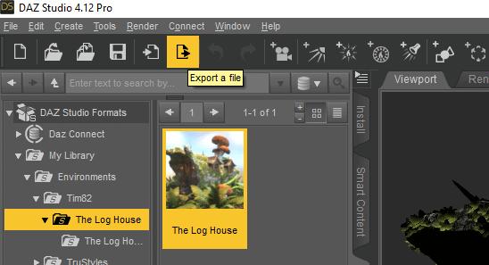 daz studio export 3d model to fbx