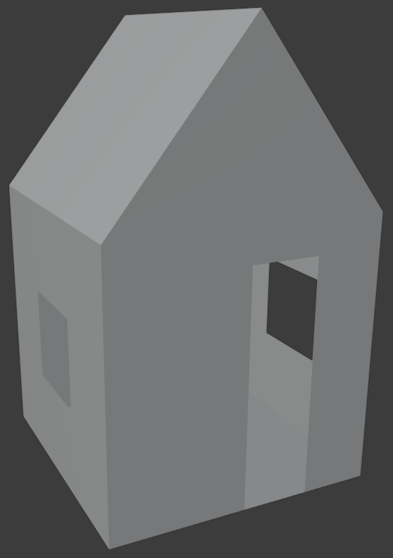 blender how to create a house