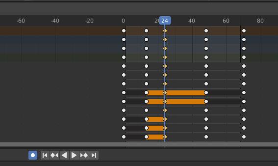 blender animation auto keying