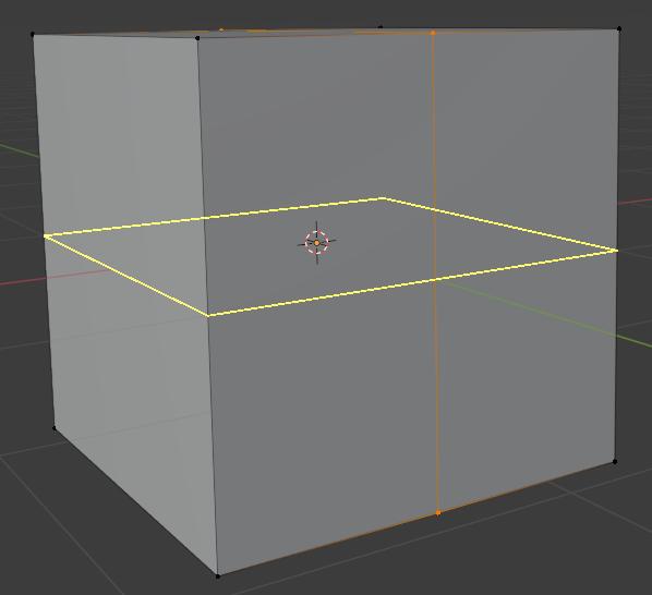 blender modeling loop cut