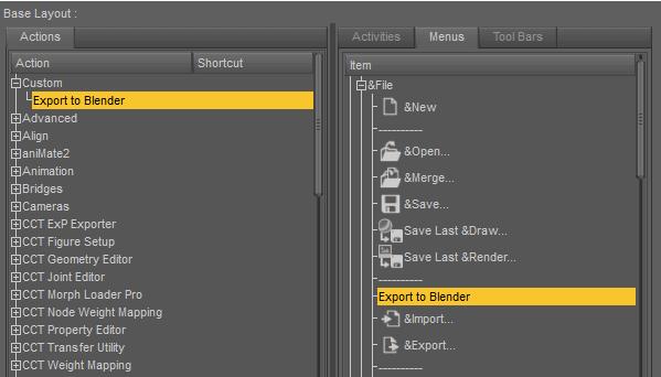 daz studio export to blender script