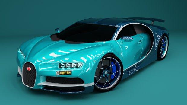 bugatti freebie blender daz3d