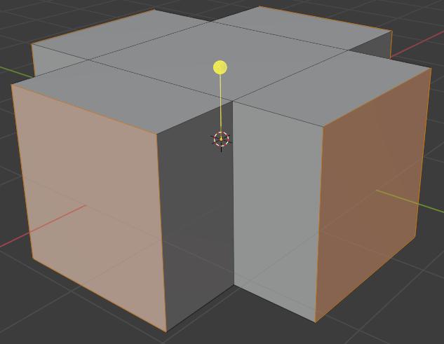 blender modeling extrude individual