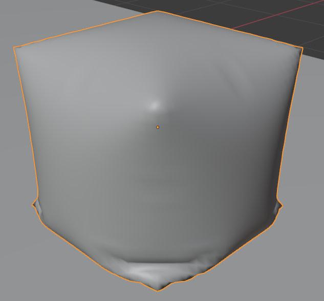 blender pressure cloth simulation