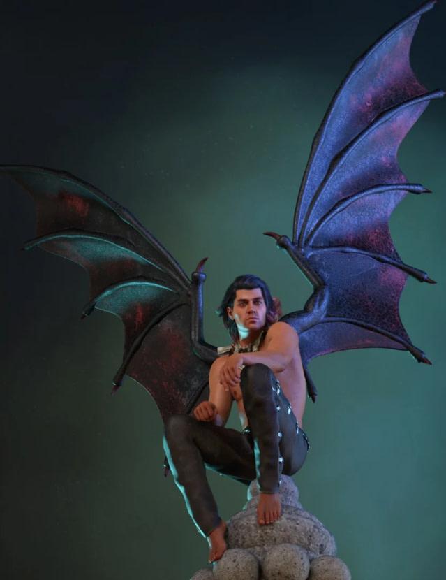 infernal daz3d wings