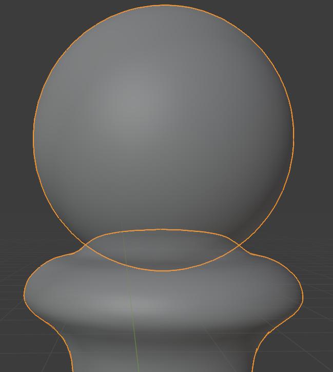 blender 3d printing overlap