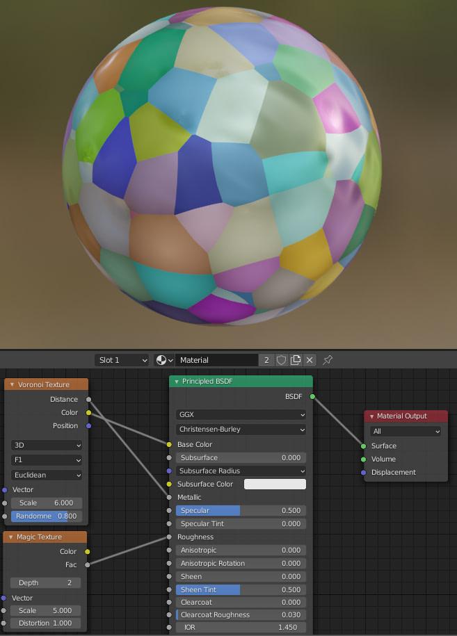 blender mixing texture nodes