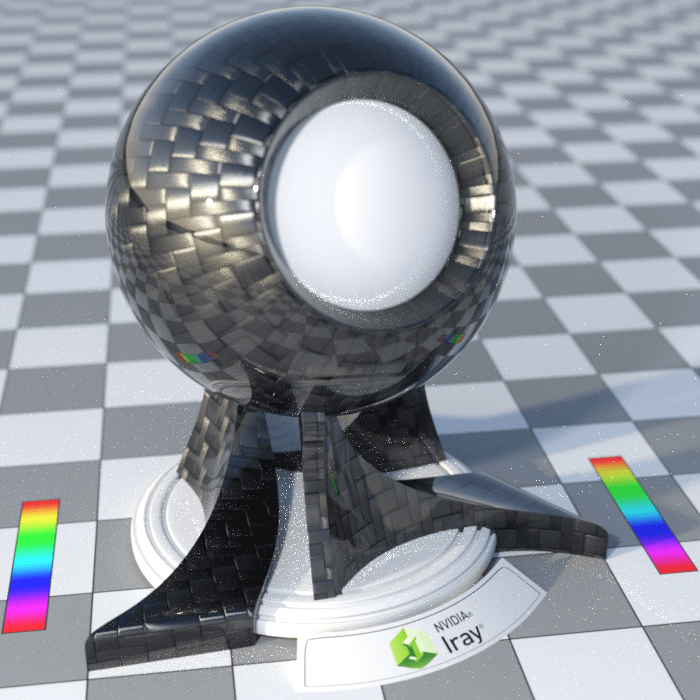 Example of firefly effect in daz render